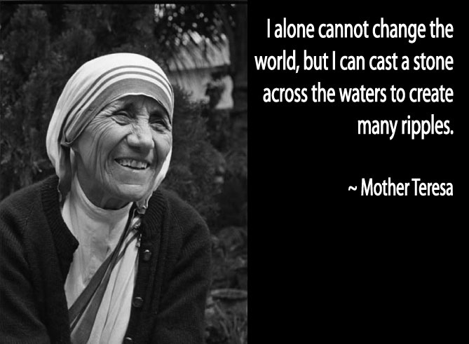 mother teresa - women's history month